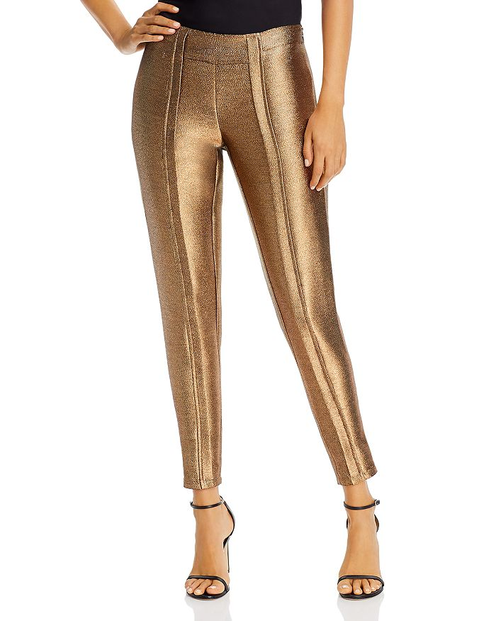 Ramy Brook - Lucinda Gold Lamé Pants