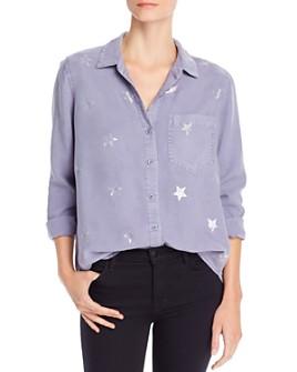 Bella Dahl - Pocket Star Print Shirt
