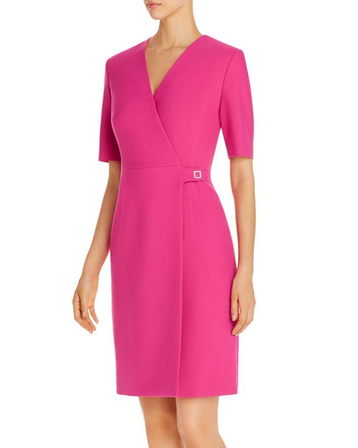 BOSS - Desirena Faux-Wrap Dress