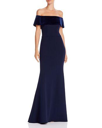 AQUA - Off-the-Shoulder Mermaid Gown - 100% Exclusive