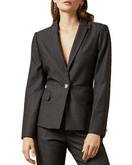 Ted Baker - Neolaa Working Title Jacquard Suit Jacket