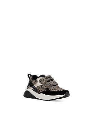 Geox Girls' J Sinead Leopard Sneakers - Toddler, Little Kid