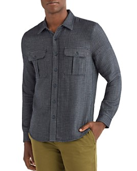 7 For All Mankind - Classic Fit Plaid Shirt