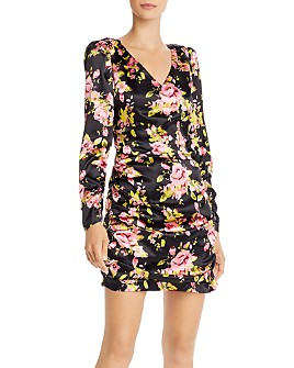LIKELY - Gabriella Floral-Print Mini Dress