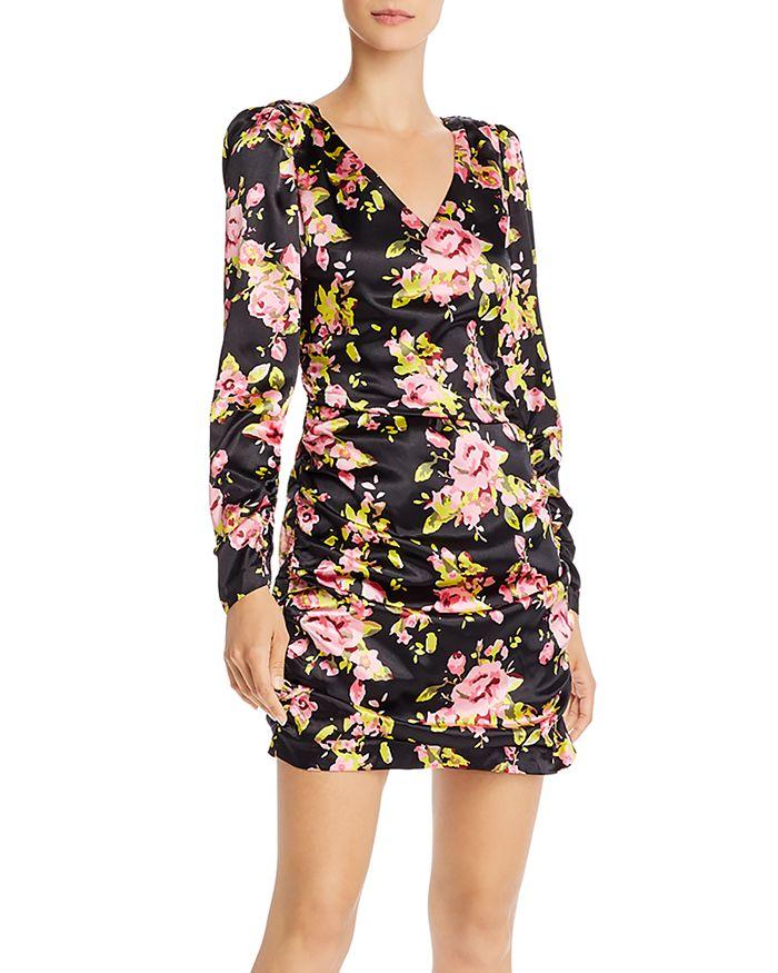 LIKELY - Gabriella Floral-Print Mini Dress
