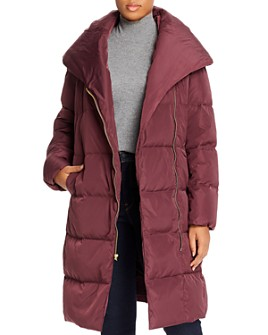 Cole Haan Plus - Shawl-Collar Puffer Coat