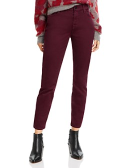 7 For All Mankind - Sateen Skinny Ankle Jeans