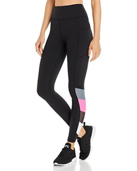 Urban Savage - Color-Block Compression Leggings