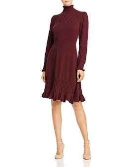 Rebecca Taylor - Dia Pointelle Knit Sweater Dress