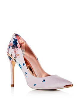Ted Baker - Women's Izibelp Floral Pointed-Toe Pumps