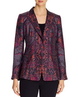 Kobi Halperin - Petra Printed Silk Blazer