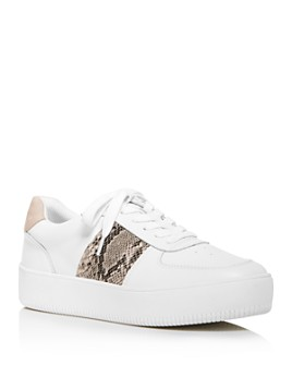 AQUA - Women's Libby Platform Sneakers - 100% Exclusive