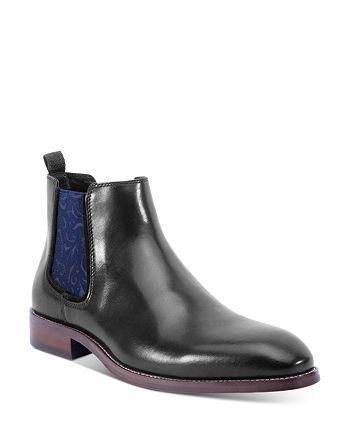 Robert Graham - Men's Laurence Chelsea Leather Boots