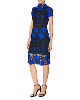 Laundry by Shelli Segal - Lace Sheath Dress