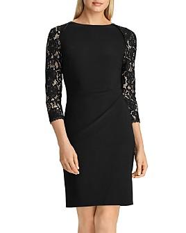 Ralph Lauren - Jersey & Lace Dress