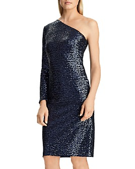 Ralph Lauren - One-Shoulder Sequin Dress - 100% Exclusive