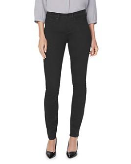 NYDJ - Alina Studded Legging Jeans in Black Rinse