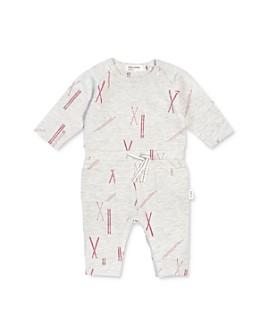 Miles Baby - Girls' Ski Print Coverall - Baby