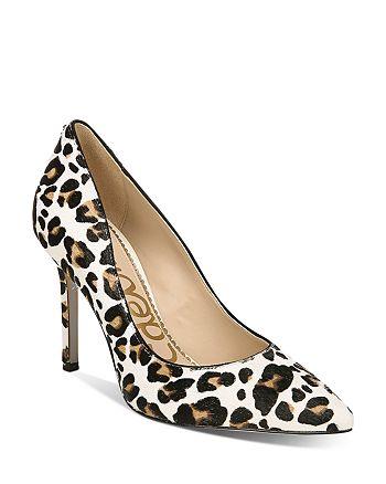 Sam Edelman - Women's Hazel Leopard-Print Pumps