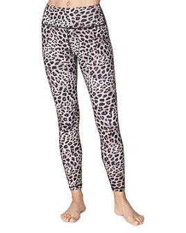 Spiritual Gangster - High-Rise Cheetah Print Leggings