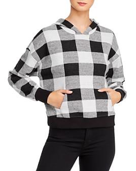 BB DAKOTA - Not Plaid At It Hooded Sweatshirt