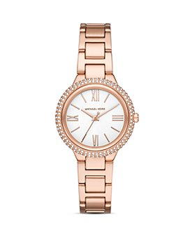 Michael Kors - Taryn Gold-Tone Link Bracelet Watch, 33mm
