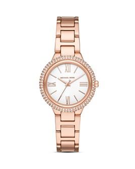 Michael Kors - Taryn Gold-Tone Link Bracelet Watch, 33mm