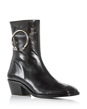 Dorateymur Women's Square-Toe Boots