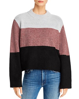 Rebecca Minkoff - Miller Love Color-Blocked Sweater