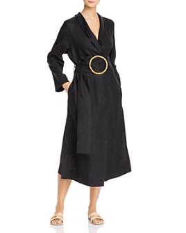 Sleeper - Linen Wrap Dress
