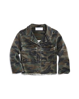 Bella Dahl - Girls' Camo Print Jacket - Little Kid, Big Kid