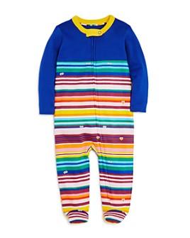 Isaac Mizrahi Loves Sesame Street - Unisex Striped Footie, Baby - 100% Exclusive