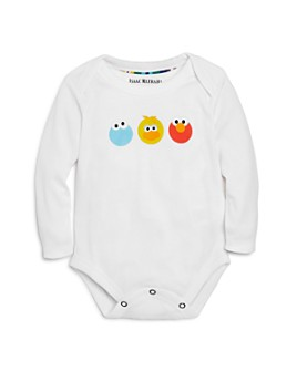 Isaac Mizrahi Loves Sesame Street - Unisex Character Graphic Bodysuit, Baby - 100% Exclusive