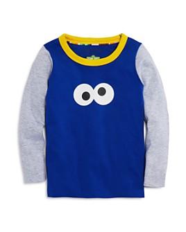 Isaac Mizrahi Loves Sesame Street - Unisex Cookie Monster Tee, Baby, Little Kid - 100% Exclusive