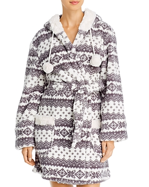 Pj Salvage Tops COZY HOODED ROBE