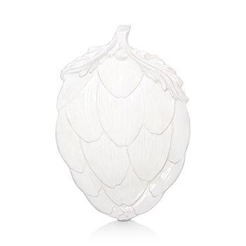 VIETRI - Artichokes White Figural Artichoke Platter