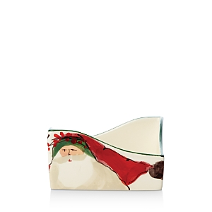 Vietri Old St. Nick Cocktail Napkin Holder