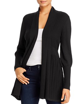 Avec - Ribbed Open Cardigan