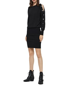 ALLSAINTS - Suzie Snap-Sleeve Dress