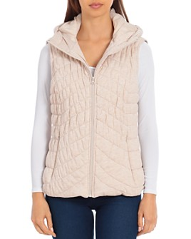 Bagatelle - Hooded Water-Resistant Knit Vest