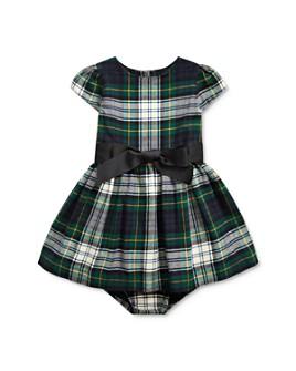 Ralph Lauren - Girls' Tartan Plaid Dress & Bloomers Set - Baby