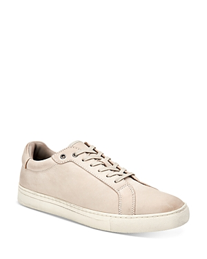 Allsaints MEN'S STOW LEATHER LOW-TOP SNEAKERS