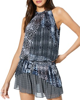 Ramy Brook - Monae Printed Mini Dress