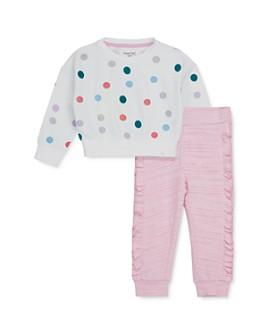 Sovereign Code - Girls' Polka Dot Sweatshirt & Valentina Ruffled Pants - Baby