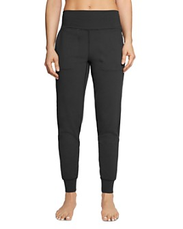 Betsey Johnson - High-Rise Slim Jogger Pants