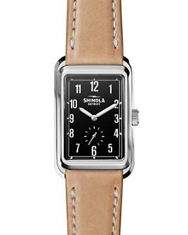 Shinola - The Omaha Leather Strap Watch, 26mm x 36mm
