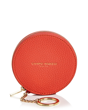 Campo Marzio Leather Coin Purse Keychain (190089926206 Handbags) photo