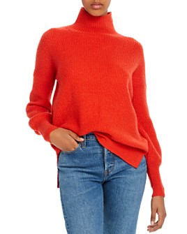 FRENCH CONNECTION - Flossy Orla Ribbed Turtleneck Sweater
