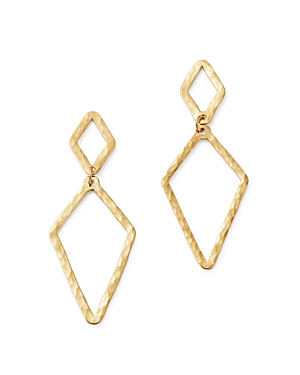 Bloomingdale's Double Diamond-Shape Drop Earrings in 14K Yellow Gold - 100% Exclusive