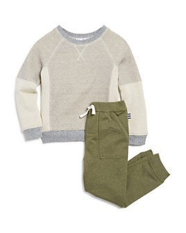Splendid - Boys' Waffle-Knit Tee & Jogger Pants Set - Little Kid